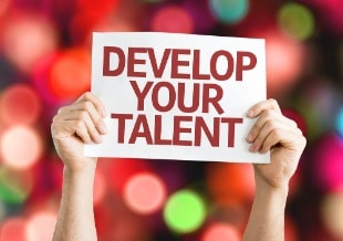 Develop Your Talent card